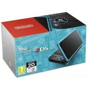 Consola Nintendo 2DS XL (Negru/Turcoaz)