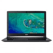 Acer Aspire 7, A715-72G-75QE, Intel Core i7-8750H (up to 4.10GHz, 9MB), Linux, Obsidian Black