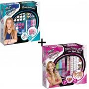 Totum Glamz Glitter Nagels, Tattoos & Haar en Sieradenset - Bundelpakket