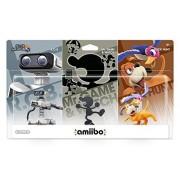 Nintendo Kit 3 Figuras Amiibo Retro Super Smash Bros Wii U