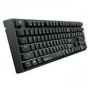 Геймърска механична клавиатура Cooler Master MasterKeys Pro L GeForce GTX Edition, Червени Суичове, CM-KEY-MKPLGTX-RED