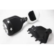 Husa silicon pentru Hoverboard 6.5 inch Black