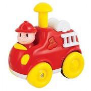 Navystar Press N Go Fire Engine Fun Mobile Red/Yellow/Blue