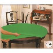 Copritavolo verde OVALE cm 140x220