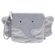 Nikiani My First Buddies Snack Bag - Pebbles Gray Elephant