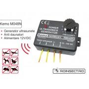 Generator ultrasunete 12-15V - Kemo M048N
