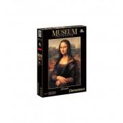 Puzzle 500 Museo Leonardo Gioconda - Clementoni