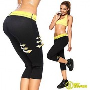 Hot Sweating Body Shapers Pant Capri Slimming Belt Hot Thermo Sweat Shapers Slimming Capri Pant Sauna Waist s4d