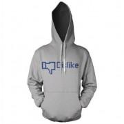 Dislike Hoodie, Hooded Pullover