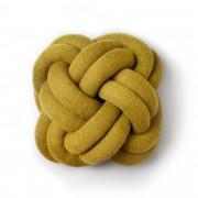 Design House Designtorget Kudde Knot gul