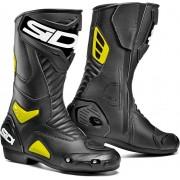 Sidi Performer Motorcycle Boots Black Yellow 40