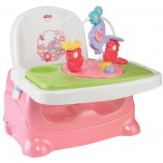 Silla Fisher Price Portatil Selva Tropical-rosada