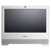 "SHUTTLE X50V5 White 15.6"" Touch Screen Celeron 3855U 1.6GHz All-In-One PC with No OS"