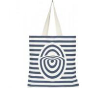 PFERD by Unisex Tote Shoulder Bag(Blue, White, 5 L)