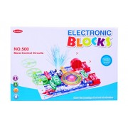Planet of Toys Learning Science Electronic Circuit Blocks - Create Exciting Projects (Large) For Kids, Children
