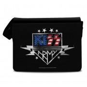 Kiss Army Messenger Bag