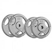 IP3H 30 kg Conjunto de Placas de Peso 2 x 5 kg + 2 x 10 kg 30 mm