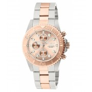 Invicta Watches Invicta Men's 1775 Pro Diver Collection Chronograph Watch PinkSilver