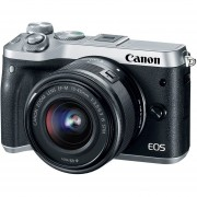 Canon Eos M6 Mirrorless Con Lente 15-45mm + 16gb
