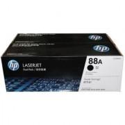 HP 88A Dual Pack Black Toner Cartridge CC388A DUAL