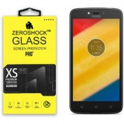 ZeroShock Tempered Glass for Motorola Moto C Plus / C+
