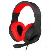 Genesis Auriculares C/microfono Genesis Argon 200 Gaming Mini Jack 3.5 Rojo
