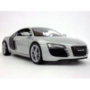 Audi R8 1/24 Scale Diecast Metal Model - SILVER