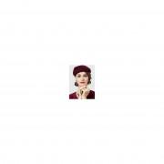 rosegal Vintage Bowknot Embellished Artifical Wool Pillbox Hat