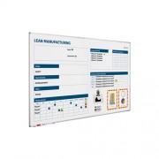 Smit Visual Whiteboard Productie verbeterbord - 120x200 cm