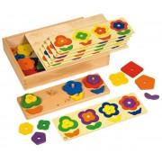 Joc Educativ Pentru Gradinita Flori 3d - Educo