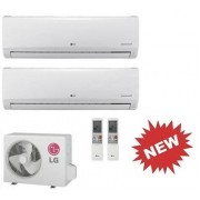 LG Kit Dual Standard Mu2m17.Ul3 + 2 X Ms09sq Nb0 Inverter Pdc 9+9