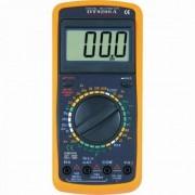 Multimetru digital DT-9208A cu carcasa antisoc