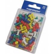 PALA Připínáčky Magnetoplan mix barev