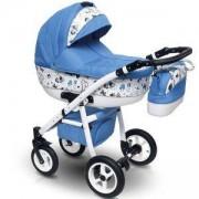 Бебешка комбинирана количка 2 в 1 Vision Design VD4, Camarelo, 770200005