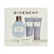 Givenchy Only Gentleman 100Ml Apă De Toaletă + 75Ml Gel de duș + 75Ml After Shave Balsam Travel Set