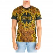 Versace Jeans Couture T-shirt maglia maniche corte girocollo uomo leo baroque