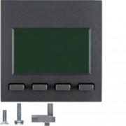 BERKER - 75860085 - S.1/B.x - info display, antracite mate 25