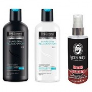 MISTER BEARD HAIR SERUM WITH TRESEMME HAIR SPA SHAMPOO CONDITIONER