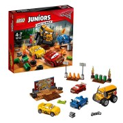 Lego Juniors Cars™ Carrera Crazy 8 en Thunder Hollow 10744