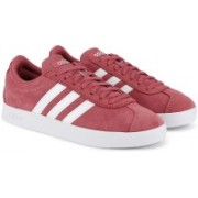 ADIDAS VL COURT 2.0 Sneakers For Women(Red)