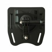 ismartdigi ig-bm1 montaje del cinturon de la camara para gopro hero 2 3 3+ 4 sesion 5 6 SJ4000 - negro