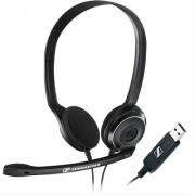 Auscultadores SENNHEISER Office Headset 42-17000Hz, 95dB, Mic90-15000Hz, C/Supr.Ruido - SENNHPC8USB