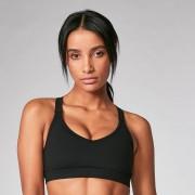 Myprotein Power Mesh Sports Bra - Black - L - Black