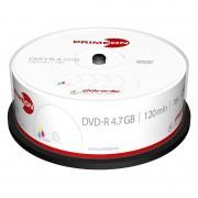 Primeon DVD-R, 4.7 GB, 16x, photo-on-disc, Inkjet Fullsize Printable, 25er-Box