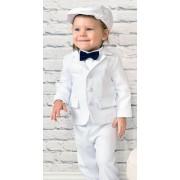 Costum botez, alb