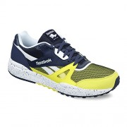 Reebok Classics Men's Royal Escape Hero Yellow, Blue Ink and White Leather Sneakers - 11 UK/India (45.5 EU)(12 US)