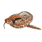 Wild Republic Pluche Birmese python slang knuffel 280 cm