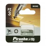 Piranha bit pz3 25 mm 2 stuks X61042