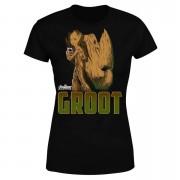 Avengers Groot Women's T-Shirt - Black - M - Black
