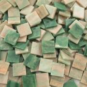 Folia Mozaika marmur zielona 10x10 mm - 190 sztuk - ZIELMAR